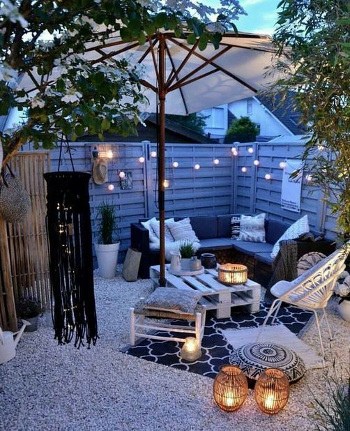 19 Fabulous Backyard Patio Landscaping Ideas 14