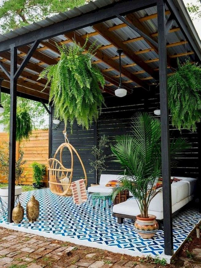 19 Fabulous Backyard Patio Landscaping Ideas 41