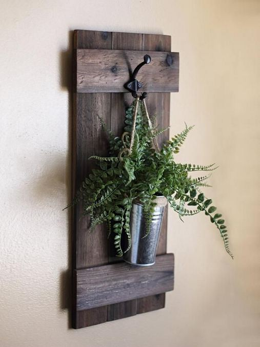 20 Unique Diy Rustic Farmhouse Decoration For Wall Living Room Ideas 16