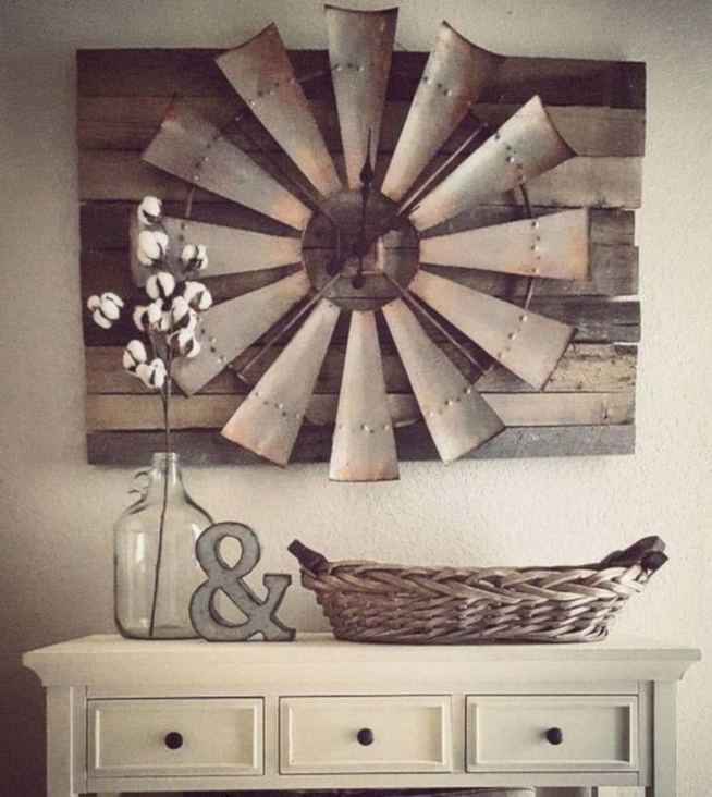20 Unique Diy Rustic Farmhouse Decoration For Wall Living Room Ideas 17