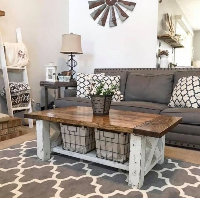 20 Unique Diy Rustic Farmhouse Decoration For Wall Living Room Ideas 21