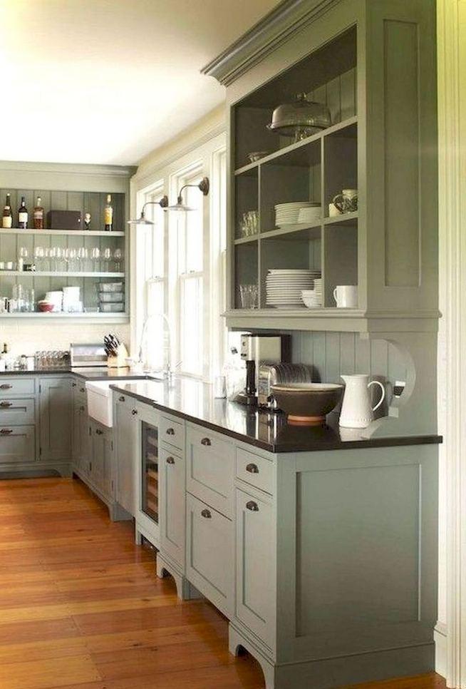 22 Stunning Farmhouse Style Cottage Kitchen Cabinets Ideas 04