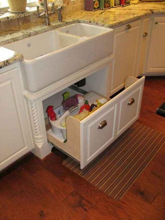 22 Stunning Farmhouse Style Cottage Kitchen Cabinets Ideas 39