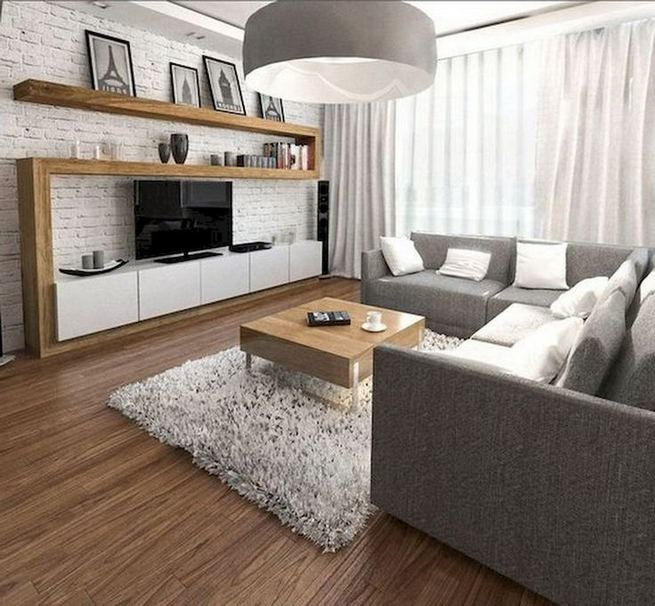 25 Inspiring Apartment Living Room Decorating Ideas 24