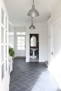 12 Beautiful Laundry Room Tile Pattern Design Ideas 17