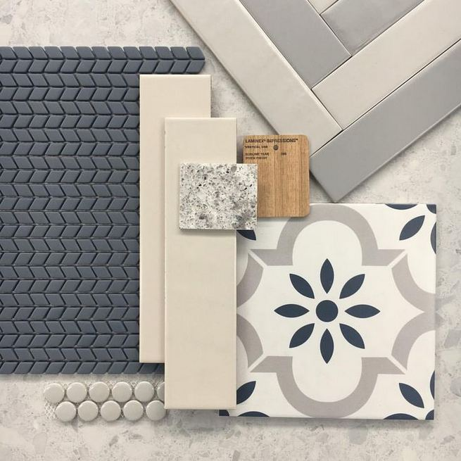 12 Beautiful Laundry Room Tile Pattern Design Ideas 21