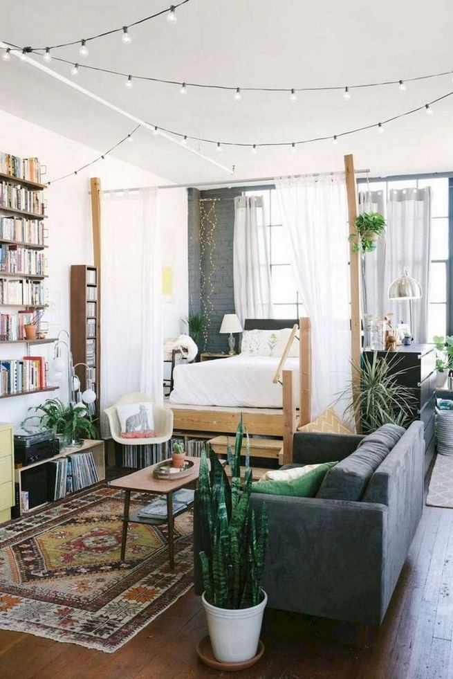12 Inspiring Studio Apartment Decor Ideas 15
