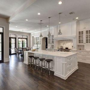 12 Stylish Luxury White Kitchen Design Ideas 01