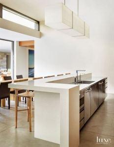 12 Stylish Luxury White Kitchen Design Ideas 18