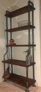 13 Creative DIY Pipe Shelves Design Ideas 12