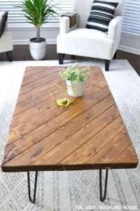 13 DIY Coffee Table Inspirations Ideas 14