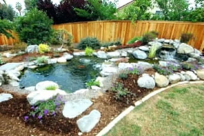 13 Gorgeous Backyard Pond Designs Ideas 08