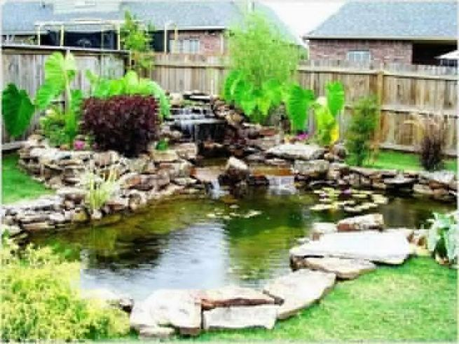 13 Gorgeous Backyard Pond Designs Ideas 11