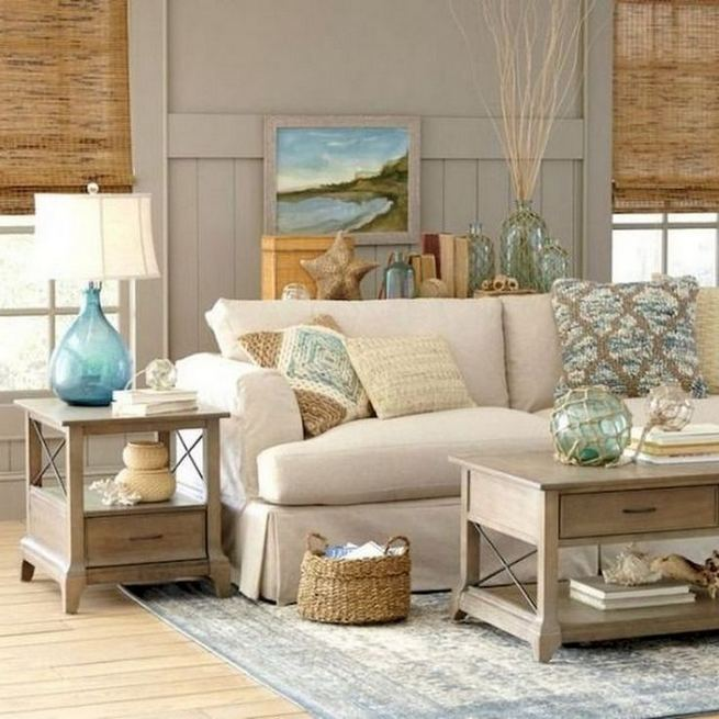 13 Inspiring Coastal Living Room Decor Ideas 33