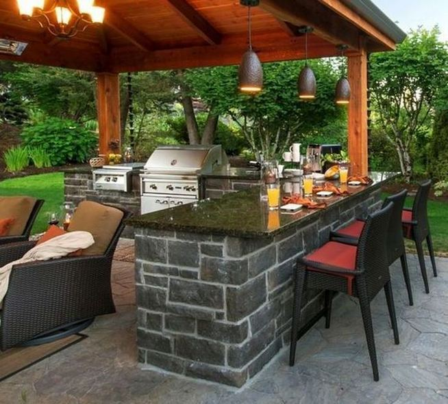 13 Totally Inspiring Outdoor Kitchens Design Ideas 22