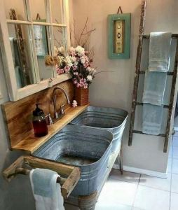 14 Awesome Cottage Bathroom Design Ideas 21