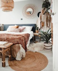 14 Brilliant Bohemian Bedroom Design Ideas 05