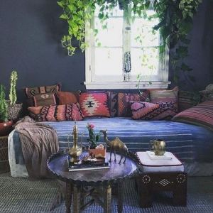 14 Brilliant Bohemian Bedroom Design Ideas 38