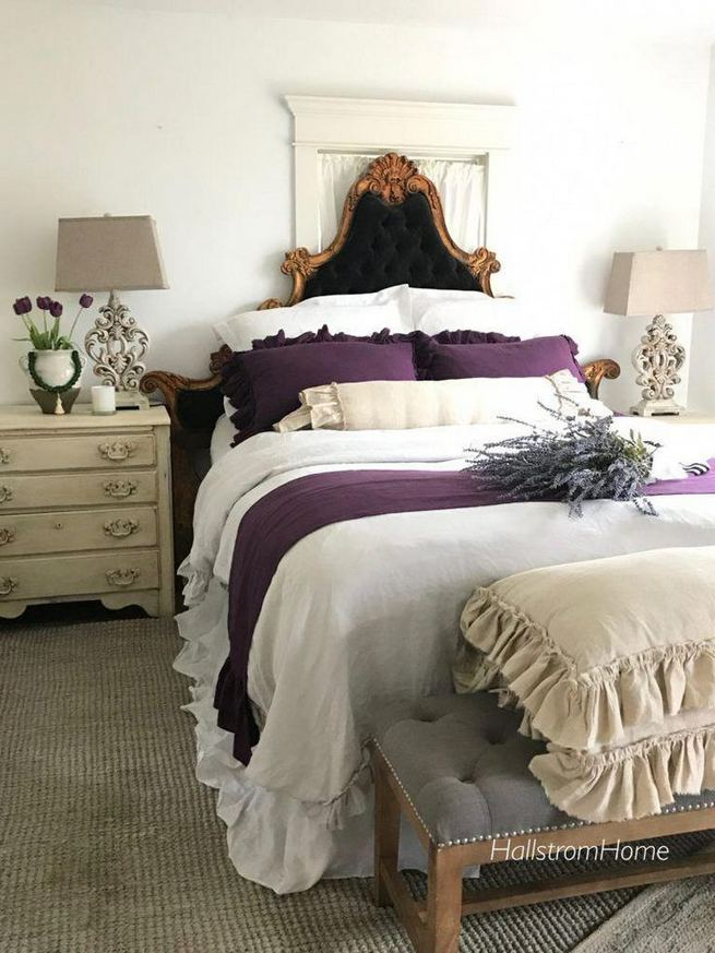 14 Comfy Shabby Chic Bedrooms Design Ideas 15