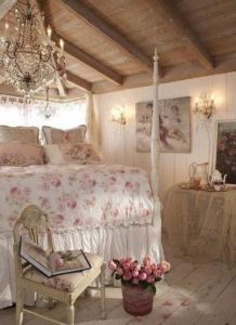 14 Comfy Shabby Chic Bedrooms Design Ideas 19
