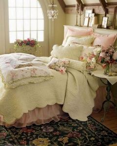 14 Comfy Shabby Chic Bedrooms Design Ideas 29