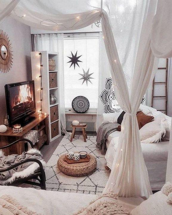 14 Cozy Bohemian Living Room Decoration Ideas 08
