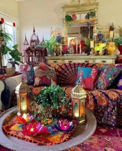 14 Cozy Bohemian Living Room Decoration Ideas 28