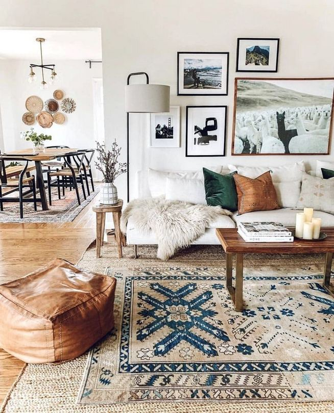 14 Cozy Bohemian Living Room Decoration Ideas 39