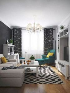 14 Cozy Small Living Room Decor Ideas For Your Apartment 24