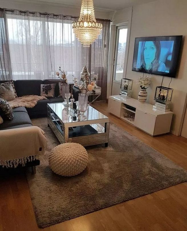 14 Cozy Small Living Room Decor Ideas For Your Apartment 25