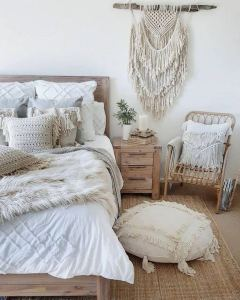 14 Elegant Boho Bedroom Decor Ideas For Small Apartment 30