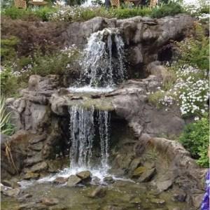 15 Relaxing Backyard Waterfalls Ideas For Your Outdoor 16