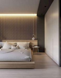 16 Minimalist Master Bedroom Decoration Ideas 11