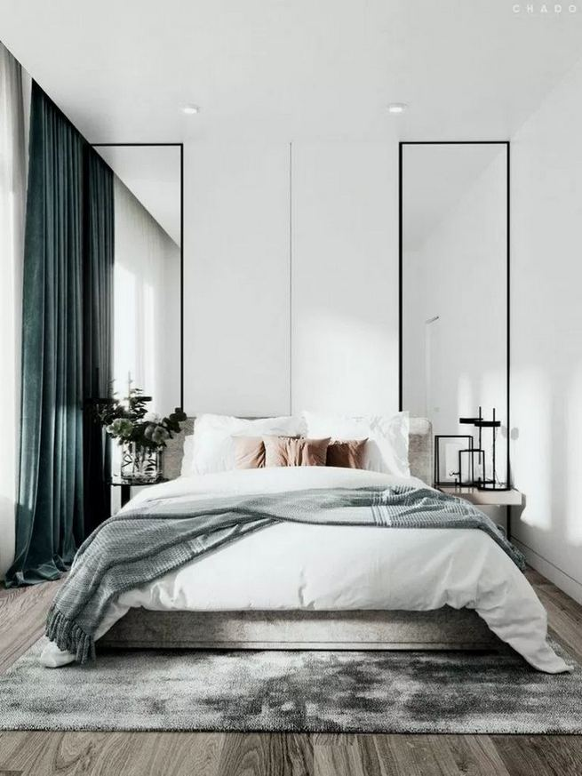 16 Minimalist Master Bedroom Decoration Ideas 24
