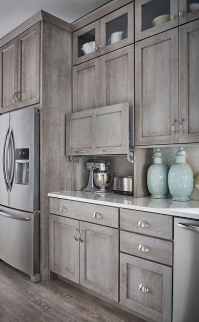16 Modern Farmhouse Kitchen Cabinet Makeover Design Ideas 03