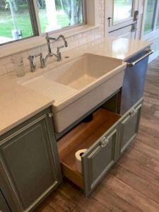 16 Modern Farmhouse Kitchen Cabinet Makeover Design Ideas 19