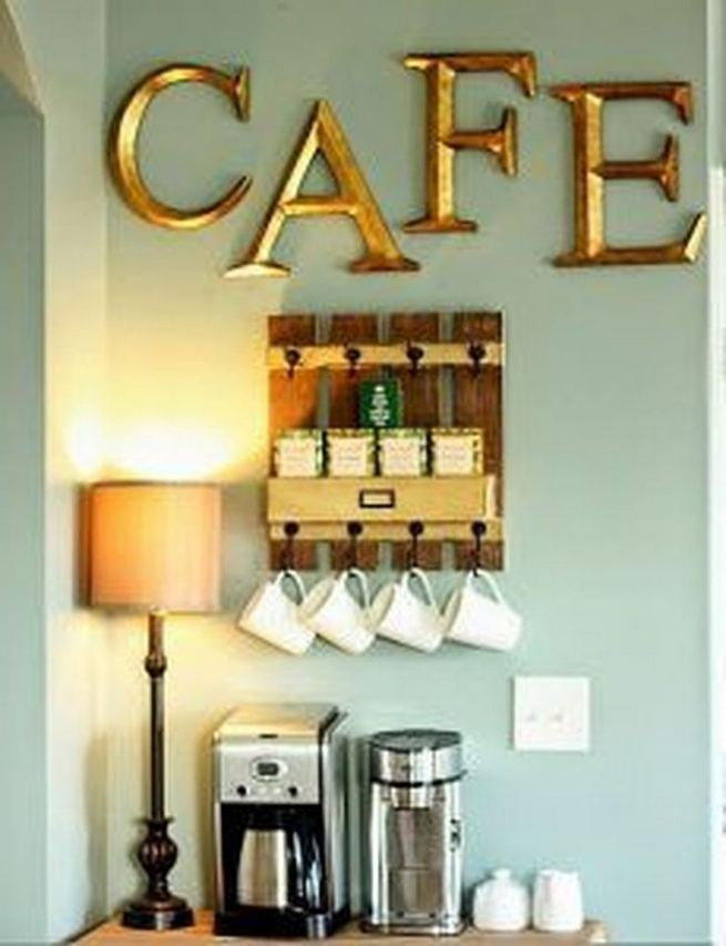 17 Easy DIY Mini Coffee Bar Ideas For Your Home 17