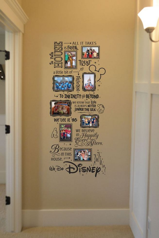 18 Creative Photo Wall Display Ideas You Should Try 09