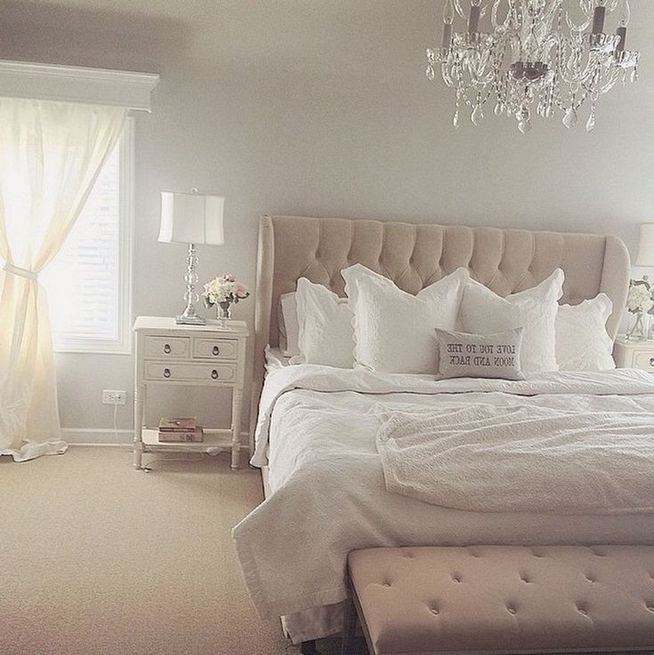 18 Romantic Shabby Chic Master Bedroom Ideas 20