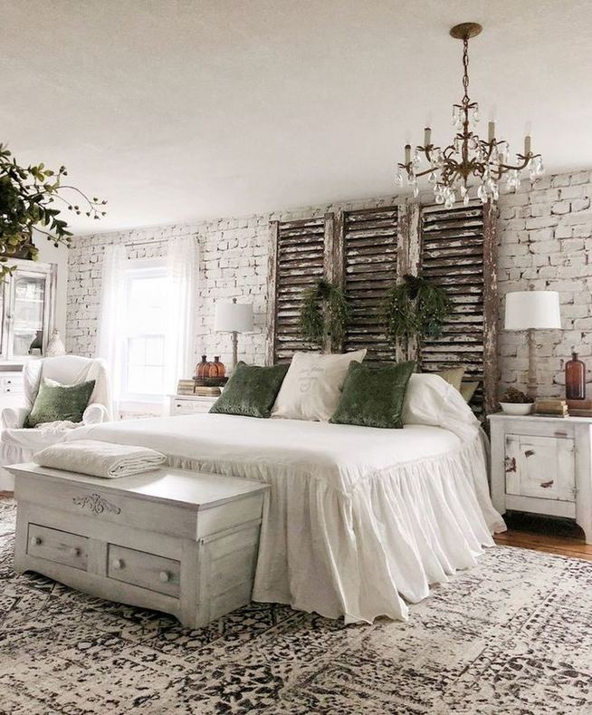 18 Romantic Shabby Chic Master Bedroom Ideas 23