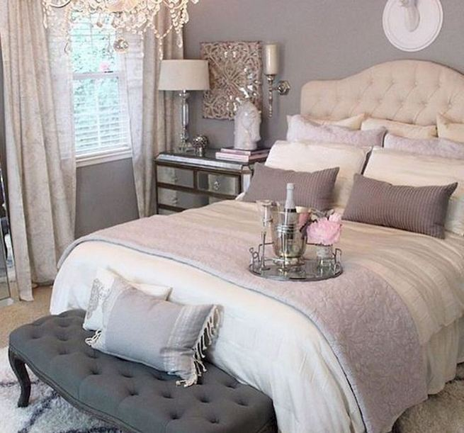 18 Romantic Shabby Chic Master Bedroom Ideas 34