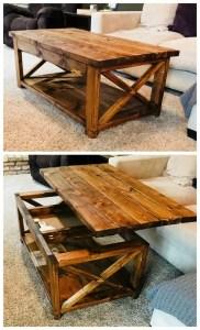 19 Easy DIY Coffee Table Inspiration Ideas 09