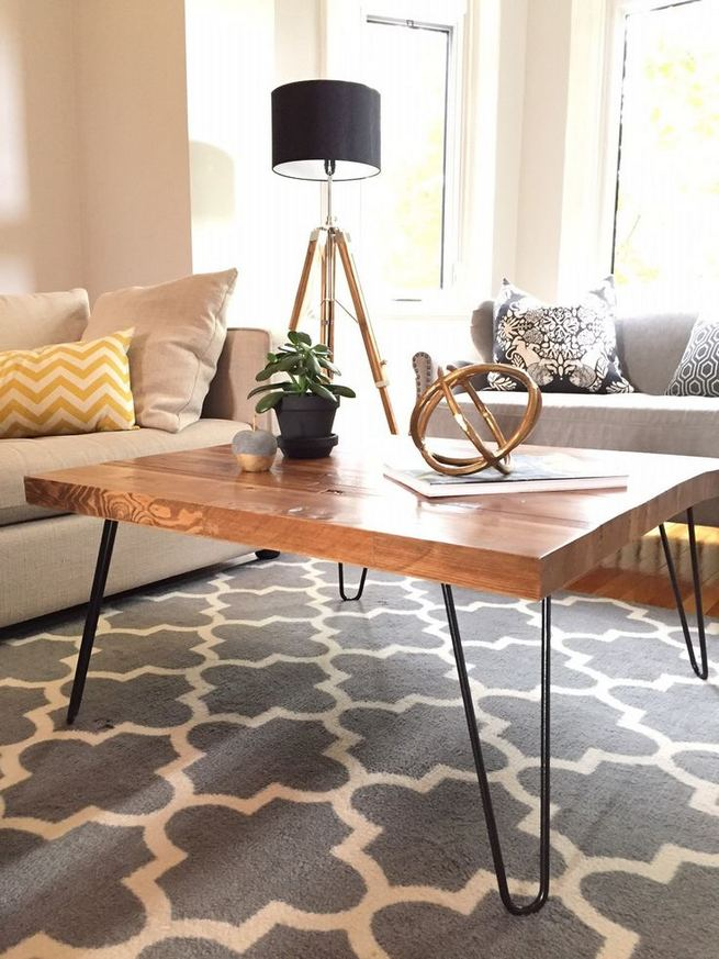 19 Easy DIY Coffee Table Inspiration Ideas 12