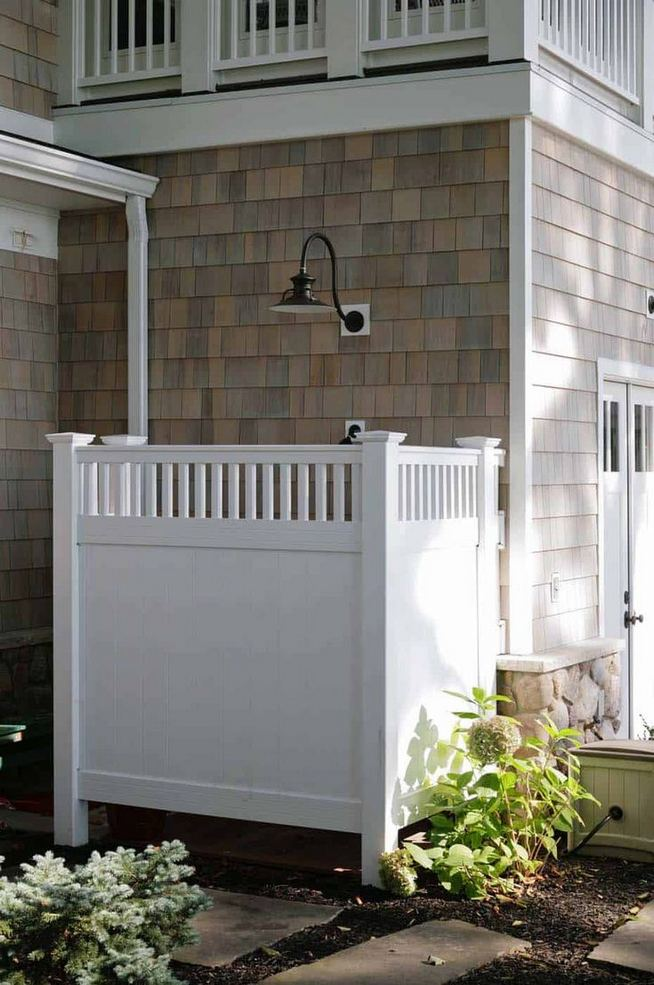 19 Inspiring Outdoor Shower Design Ideas 16