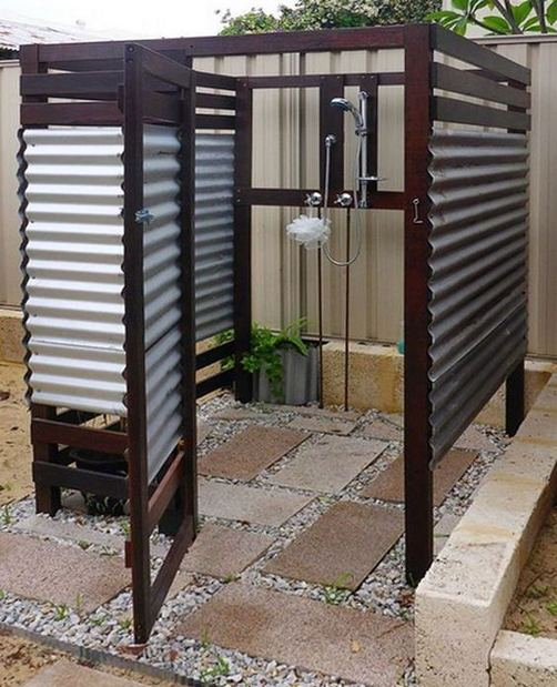 19 Inspiring Outdoor Shower Design Ideas 20