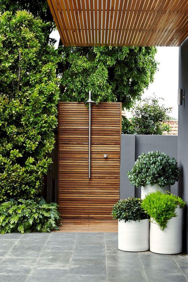 19 Inspiring Outdoor Shower Design Ideas 22