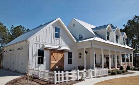 21 Amazing Rustic Farmhouse Exterior Designs Ideas 06