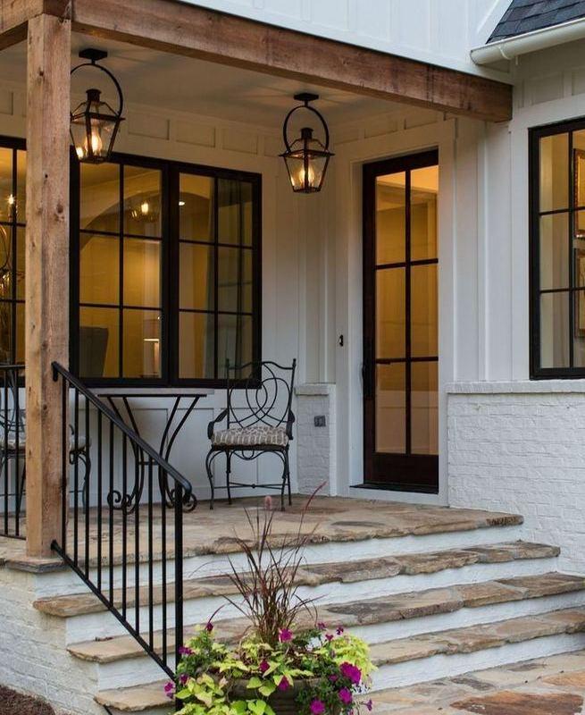 21 Amazing Rustic Farmhouse Exterior Designs Ideas 27