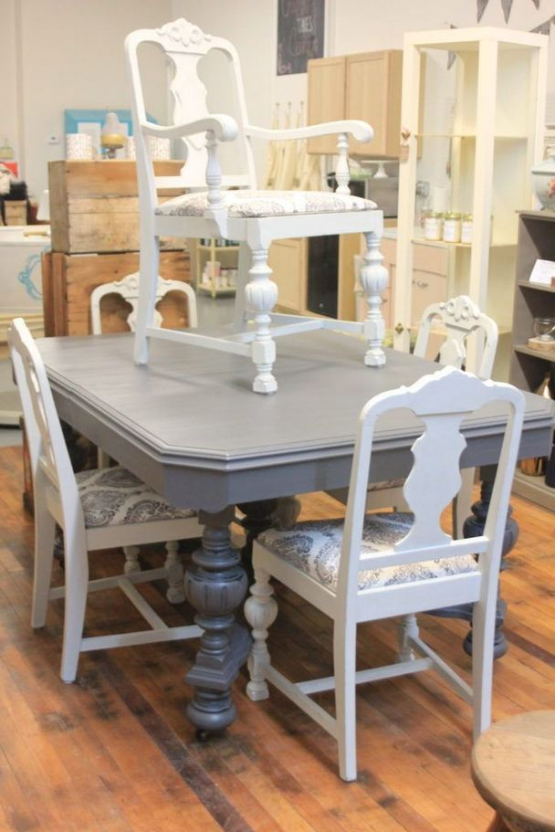 21 Vintage DIY Dining Table Design Ideas 06