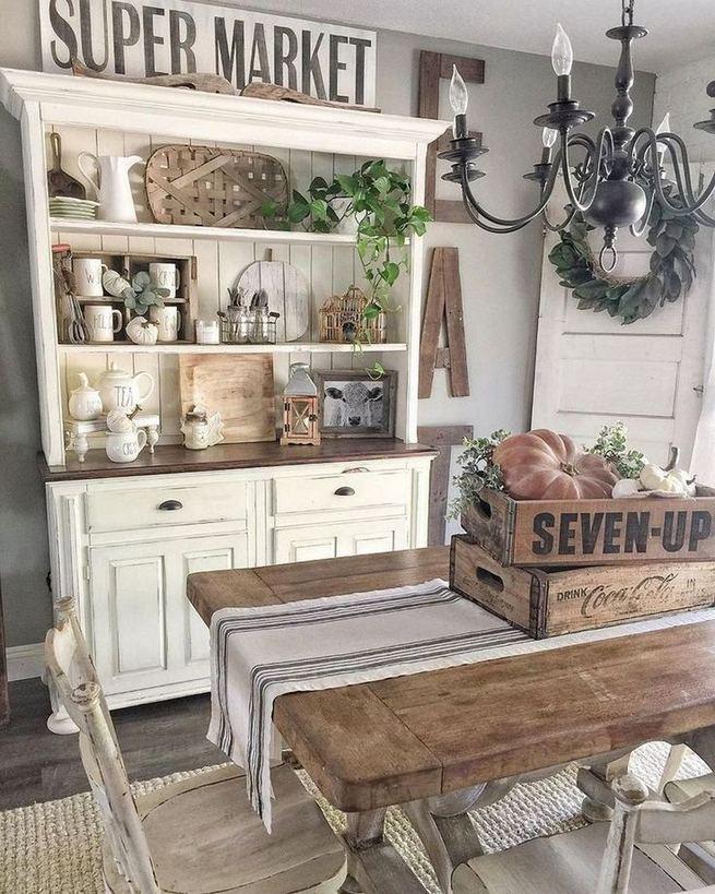 21 Vintage DIY Dining Table Design Ideas 13